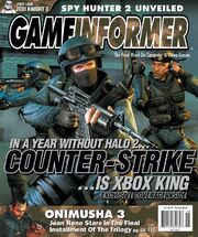 CSX GameInformer cover