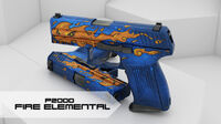 Csgo-p2000-fire-elemental-workshop