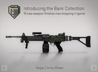Negev army sheen
