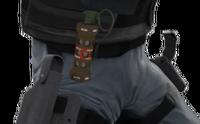 P decoy holster