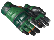 Motorcycle gloves motorcycle basic green orange light large