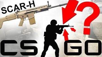 Cut Content of CS GO - SCAR-H Mk.17 The lost Gun - CCCS 6-0