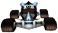 CTR Penta Penguin In-Kart (Front)