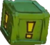 Crash Bandicoot N. Sane Trilogy Green Iron ! Nitro Switch Crate