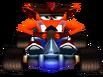 CTR Fake Crash In-Kart (Front)
