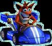 Crash Nitro Kart Crash Bandicoot In Kart