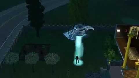 Claire Van Gould Gets Abducted by Aliens