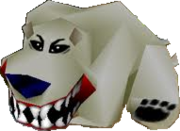 Crash Bandicoot 2 Cortex Strikes Back Polar Bear