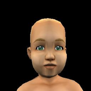 Toddler Female 1 Tan