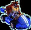 Crash Nitro Kart Crunch Bandicoot In Kart