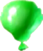 Crash Bash Green Balloon