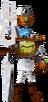 Crash Bandicoot 3 Warped Doctor Nefarious Tropy