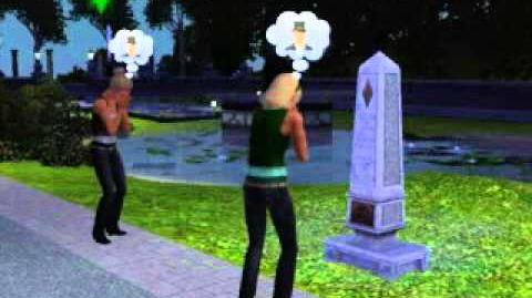 Mourning at the Tombstone