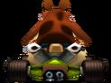 CTR Dingodile In-Kart (Back)