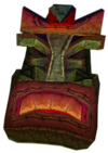 Crash Bandicoot 2 Cortex Strikes Back Angry Tiki