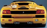 Lamborghini Diablo SV Rear View