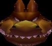 Dingodile Head in Vortex Crash Bandicoot 3 Warped