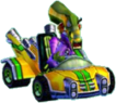 Crash Nitro Kart Nitrous Oxide In Kart
