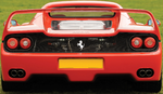 Ferrari F50 Rear View