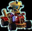 Crash Nitro Kart Doctor Neo Cortex In Kart