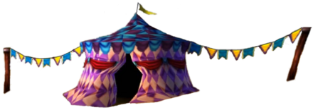Crash Bandicoot 3 Warped Tent