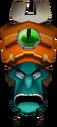 Doctor Nefarious Tropy Head in Vortex Crash Bandicoot 3 Warped