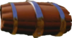 Crash Bandicoot N. Sane Trilogy Rolling Wooden Barrel