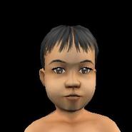 Toddler Female 2 Tan