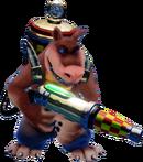 Crash N. Sane Trilogy Dingodile