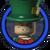 Mad Hatter Icon Lego Batman