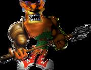 Crash Bandicoot The Huge Adventure Tiny Tiger