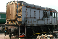 BR Class 08 Diesel Shunter Electric 0–6–0