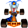 CTR Crash Team Racing Ripper Roo