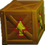 Crash Bandicoot N. Sane Trilogy Wooden Arrow Crate