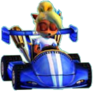 Crash Nitro Kart Coco Bandicoot In Kart