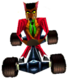 CTR Crash Team Racing Pinstripe Potoroo