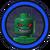 Killer Croc Icon Lego Batman