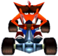 CTR Crash Team Racing Fake Crash Bandicoot