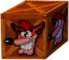 Crash Bandicoot 2 Cortex Strikes Back Crash Bandicoot Life Crate