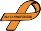 ADHD Awareness Ribbon