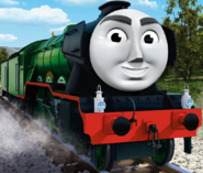 Flying Scotsman CGI Promo