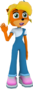 Coco Bandicoot 20th Anniversary Edition Render