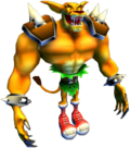 Tiny Tiger - Crash Twinsanity - with tail