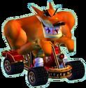Crash Nitro Kart Tiny Tiger In Kart