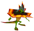 Crash Bandicoot 2 Cortex Strikes Back Spiked Lizard
