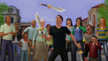 Sims 3 Showtime Loading Screen Picture