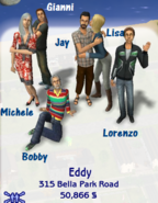 Eddy family (Belladonna Cove)