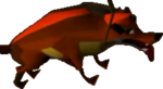 Crash Bandicoot Hyena