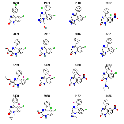 Align the depiction using a fixed substructure   Chemistry Toolkit