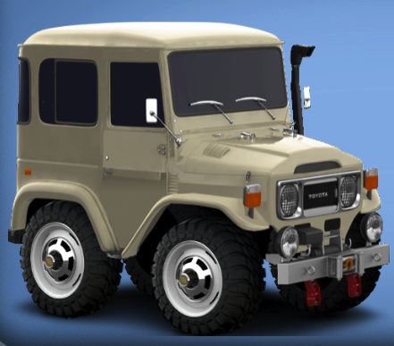 Toyota Land Cruiser JF40